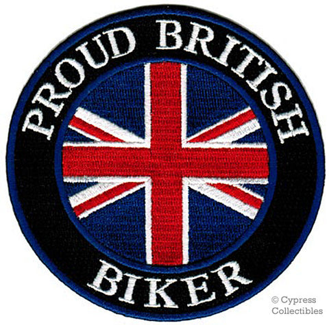 PROUD BRITISH BIKER PATCH