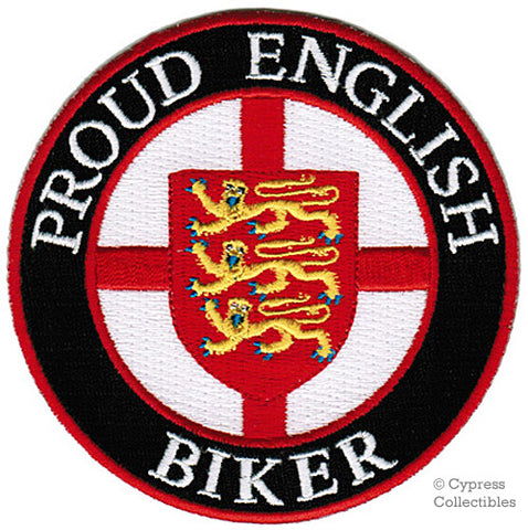 PROUD ENGLISH BIKER PATCH