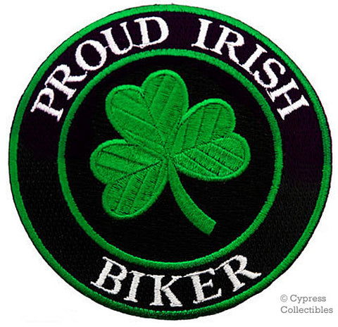PROUD IRISH BIKER PATCH