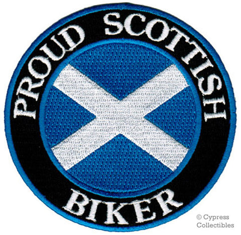 PROUD SCOTTISH BIKER PATCH