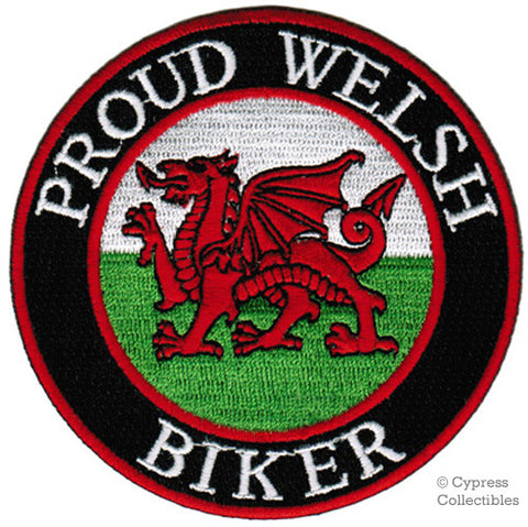 PROUD WELSH BIKER PATCH