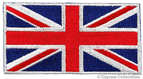 BRITISH UNION JACK FLAG PATCH
