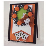 Halloween Boo words die by Serendipity Stamps dies 036