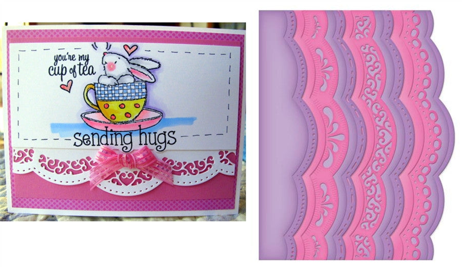 A2 Scalloped Borders 1 S5-182 Spellbinders - Inspiration Station Scrapbook Store & Retreat