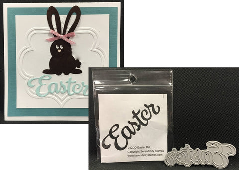 Easter Word metal die by Serendipity Cutting Dies 042DD - Inspiration Station Scrapbook Store & Retreat