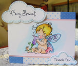 FAIRY SWEET Clear cling stamp set by PENNY BLACK - Inspiration Station Scrapbook Store & Retreat
