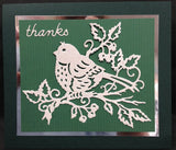 Bella Springtime Bird Elites Metal Die Cut By Cottage Cutz - Inspiration Station Scrapbook Store & Retreat
