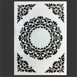 Ornament Frame embossing folder by Nellie's Choice embossing folders VINF007