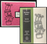 BIRTHDAY STACK die by POPPY STAMPS 1121 - Inspiration Station Scrapbook Store & Retreat