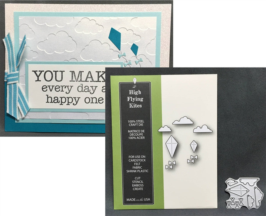 HIGH FLYING KITES die set by POPPY STAMPS 1169 - Inspiration Station Scrapbook Store & Retreat