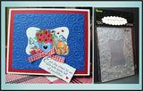 SCROLL FRAME Embossing Folder By DARICE 1215-49 - Inspiration Station Scrapbook Store & Retreat