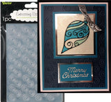 SWIRL BACKGROUND Embossing Folder By DARICE 1215-62 - Inspiration Station Scrapbook Store & Retreat