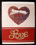 Love Thin Metal Die by Serendipity Stamps 011DD - Inspiration Station Scrapbook Store & Retreat