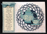 Tea Cup Thin Metal Die Cut by Serendipity Stamps 021CD - Inspiration Station Scrapbook Store & Retreat
