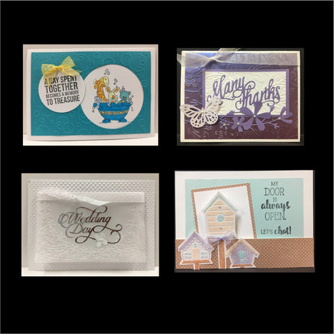June 2017 Handmade Card Kit - Card Class to Go
