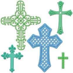 Crosses S5-093 Spellbinders - Inspiration Station Scrapbook Store & Retreat