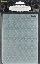 ARGYLE Embossing Folder 5x7 By DARICE 1217-61 - Inspiration Station Scrapbook Store & Retreat