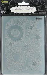 FLOWER FRENZY Embossing Folder 5x7 by DARICE 1217-66 - Inspiration Station Scrapbook Store & Retreat
