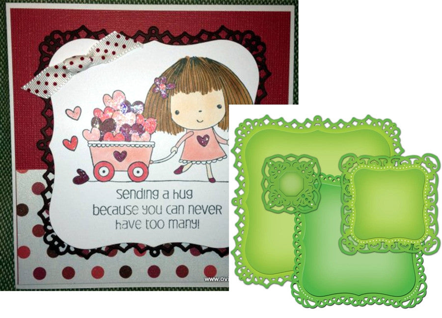 Decorative Labels 1 S4-379 Spellbinders - Inspiration Station Scrapbook Store & Retreat