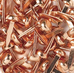 COPPER  MINI BRADS 1/8 inch by DOODLEBUG - Inspiration Station Scrapbook Store & Retreat