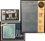 OH HELLO AGAIN die set by MEMORY BOX 30010 - Inspiration Station Scrapbook Store & Retreat