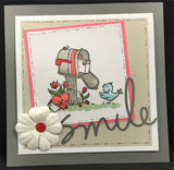 A LOVELY SMILE craft die set - MEMORY BOX 30012 - Inspiration Station Scrapbook Store & Retreat
