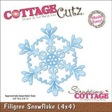 Filigree Snowflake Metal Die Cut By Cottagecutz Craft Cutting Dies - Inspiration Station Scrapbook Store & Retreat