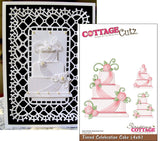 Tiered Celebration Cake Die Cut By Cottage Cutz - Inspiration Station Scrapbook Store & Retreat
