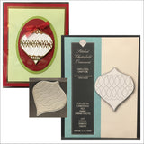 Stitched Chesterfield Ornament Die By Memory Box Dies 99260 - Inspiration Station Scrapbook Store & Retreat