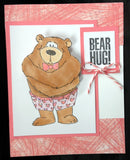 Bear Hug Unmounted Stamp Set by Art Impressions - Inspiration Station Scrapbook Store & Retreat