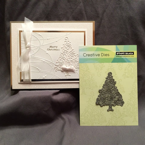 TWIRL TREE by PENNY BLACK Die 51-091 - Inspiration Station Scrapbook Store & Retreat