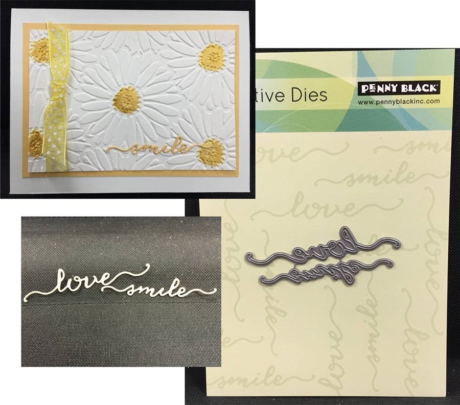 HEARTFELT Metal Die Cut Set by PENNY BLACK 51-093 - Inspiration Station Scrapbook Store & Retreat