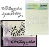 SPLENDID WISHES Metal Die Cut Set by PENNY BLACK 51-107 - Inspiration Station Scrapbook Store & Retreat