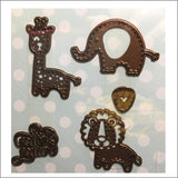 Stuffed Animals Metal Die Set by Creative Expressions With Pitter Patter Words CED10025 - Inspiration Station Scrapbook Store & Retreat