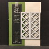 Grand Chalet Window metal die by Poppystamps dies 916