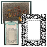 Regal Impressions embossing folder by Ultimate Crafts embossing folders ULT157200