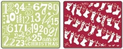 Christmas Stockings Set by Sizzix - Inspiration Station Scrapbook Store & Retreat