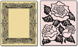 Roses and Frame by Sizzix - Inspiration Station Scrapbook Store & Retreat