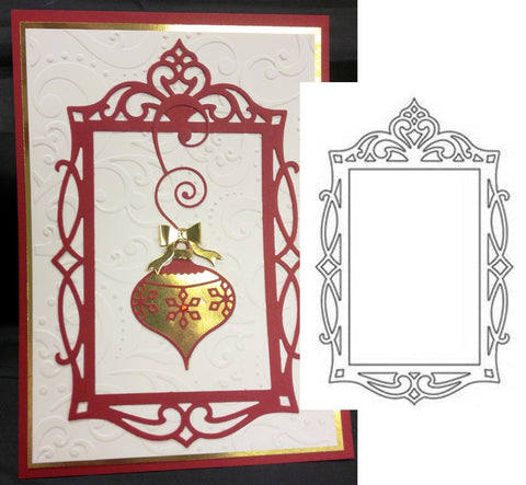 Fancy Rectangle Frame Thin Metal Die by Sizzix - Inspiration Station Scrapbook Store & Retreat