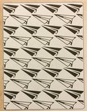 PAPER AIRPLANE & DOTTED LINES Embossing Folder Set by Sizzix 660250 - Inspiration Station Scrapbook Store & Retreat