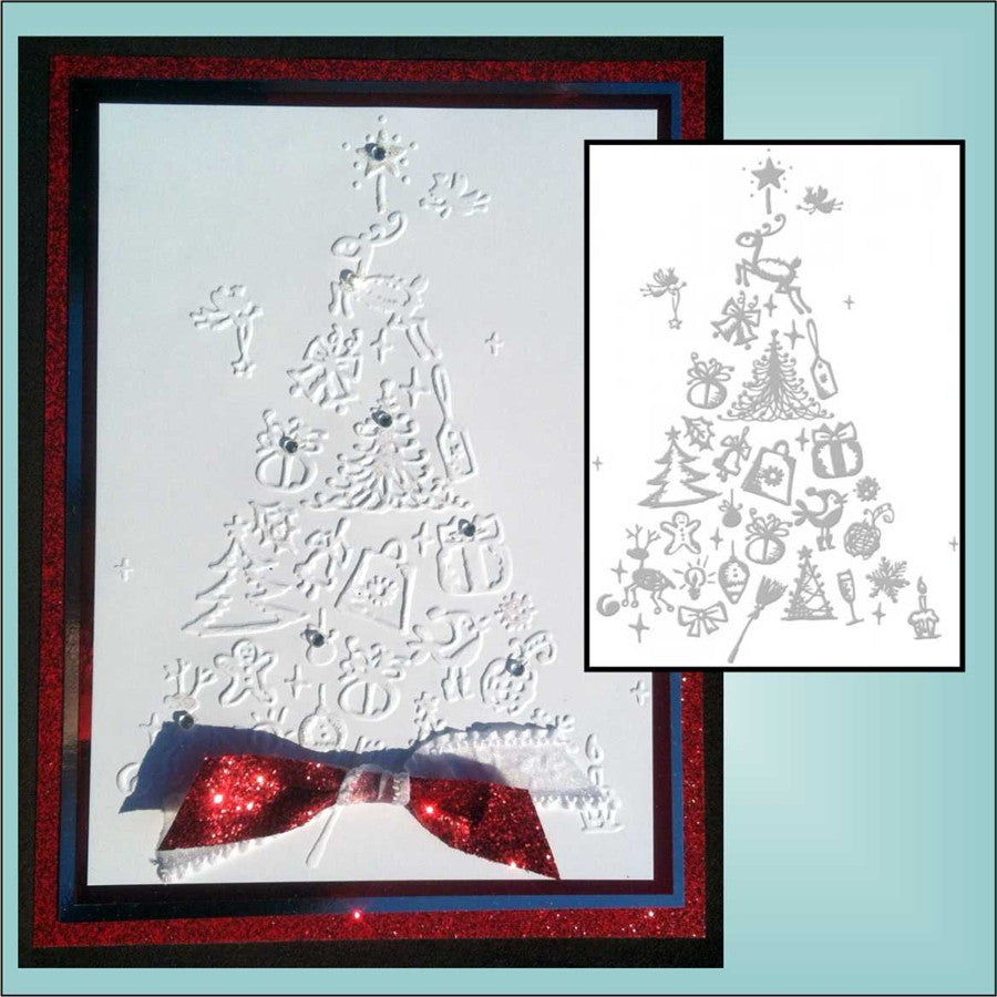 Favorites Ho! Ho! Ho! Collection Folder by COUTURE CREATIONS - Inspiration Station Scrapbook Store & Retreat