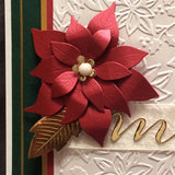 BLOOMING POINSETTIA die by POPPY STAMPS 861 - Inspiration Station Scrapbook Store & Retreat