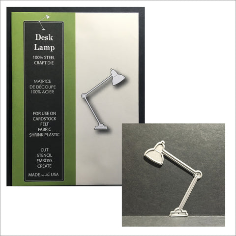 Desk Lamp metal cutting die - Poppystamps dies 890