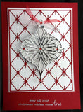 Diamond Background Thin Metal Die by Poppy Stamps 965 - Inspiration Station Scrapbook Store & Retreat
