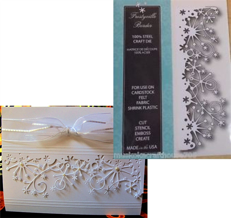 FROSTYVILLE BORDER die by MEMORY BOX 98146 - Inspiration Station Scrapbook Store & Retreat