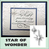 STAR OF WONDER dies by MEMORY BOX 98167 - Inspiration Station Scrapbook Store & Retreat