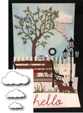 PUFFY CLOUDS die set by MEMORY BOX 98172 - Inspiration Station Scrapbook Store & Retreat