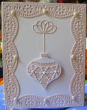 SNOWFLAKE ORNAMENT die by MEMORY BOX 98231 - Inspiration Station Scrapbook Store & Retreat