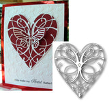 LA RUE HEART die by MEMORY BOX 98255 - Inspiration Station Scrapbook Store & Retreat