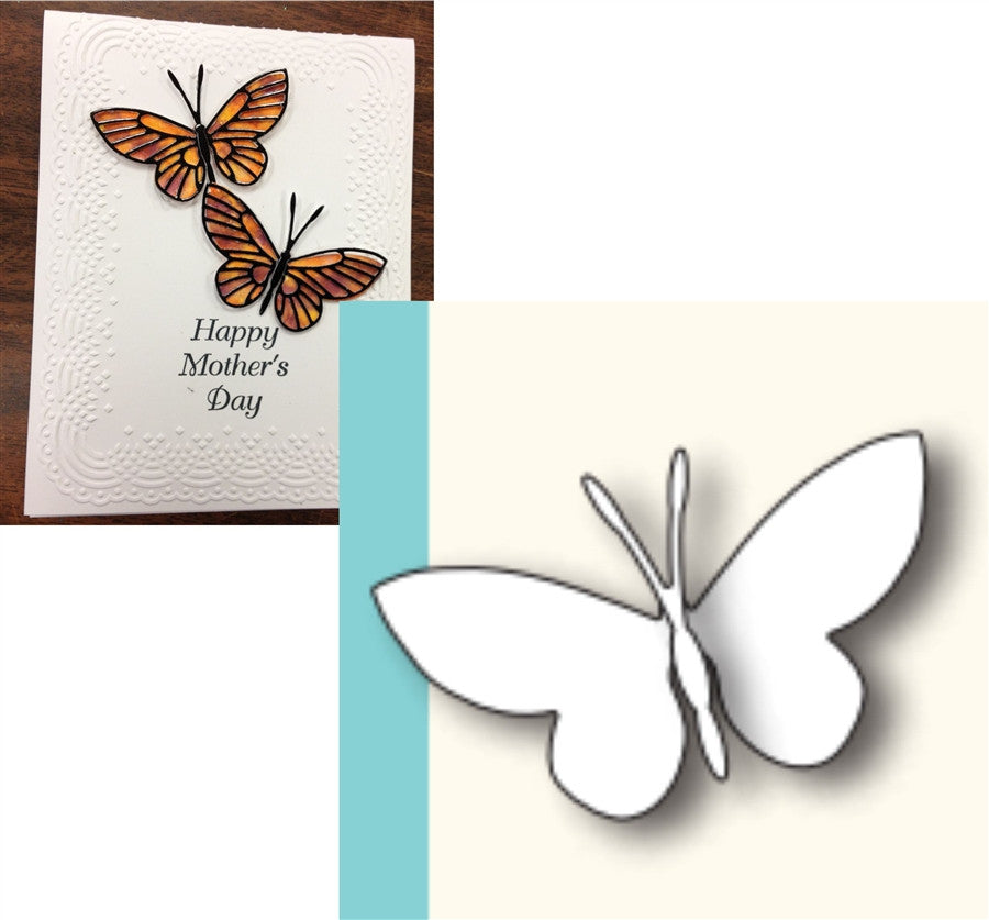 MOONLIGHT BUTTERFLY die by MEMORY BOX 98260 - Inspiration Station Scrapbook Store & Retreat